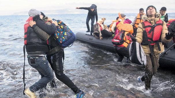 Mültecilerden AB'ye 126 milyar euro katkı