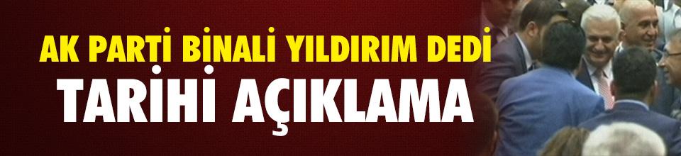 Son dakika : AK Parti'nin yeni başbakan adayı Binali Yıldırım oldu