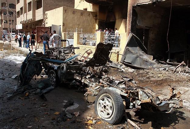 Bağdat'ta patlama: 3 ölü, 12 yaralı