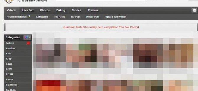 Porno sitesi, kullanıcılarının 19 Mayıs'ını kutladı!