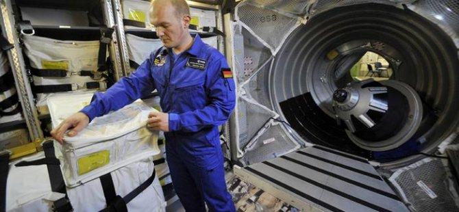 Uzaya ilk Alman komutan
