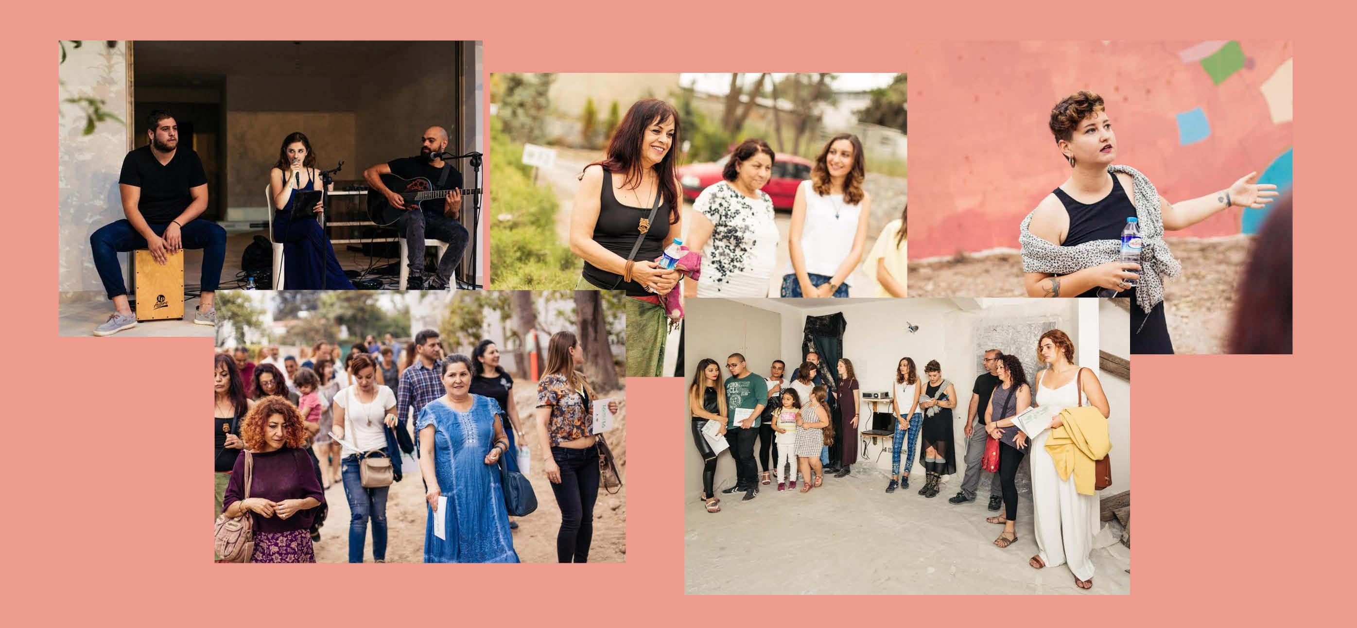 Sanatseverler Milos Sanat Günü'nde buluştu