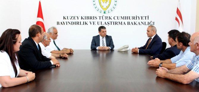 Dürüst Karadeniz Kültür Derneği'ni kabul etti…