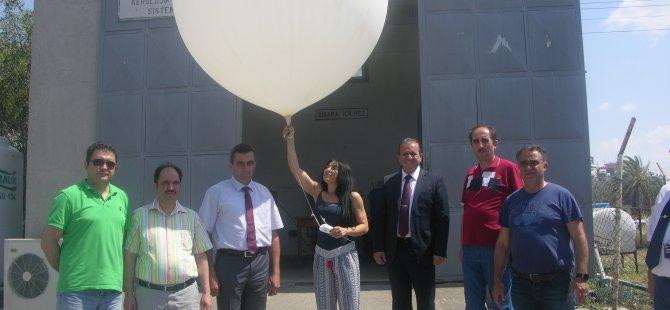 Ataoğlu üst atmosfer gözlem sistemi deneme uçuşu hakkında bilgi aldı