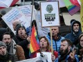 Brüksel'de Putin protestosu