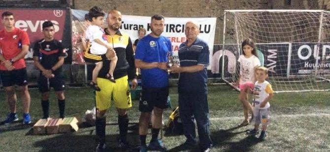 Turan Katırcıoğlu anı maçı ile anıldı