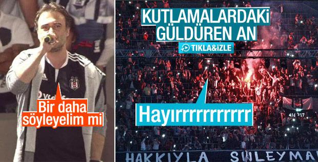 AKP'ye yakınlığı ile bilinen Kutsi'yi sağlam trolleyen Beşiktaş taraftarı!