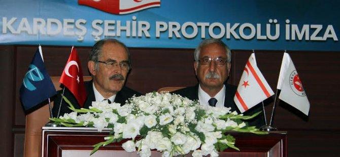 Girne Belediyesi Ve Eskişehir Belediyesi artık kardeş!