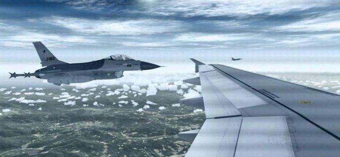 Uyuyan pilotları, F-16'lar uyandırdı!