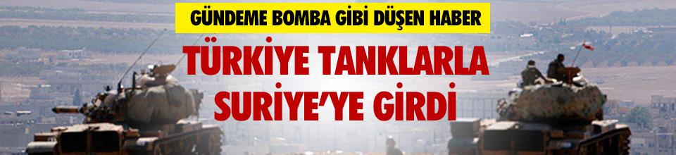 Türkiye Suriye'ye girdi iddiası!