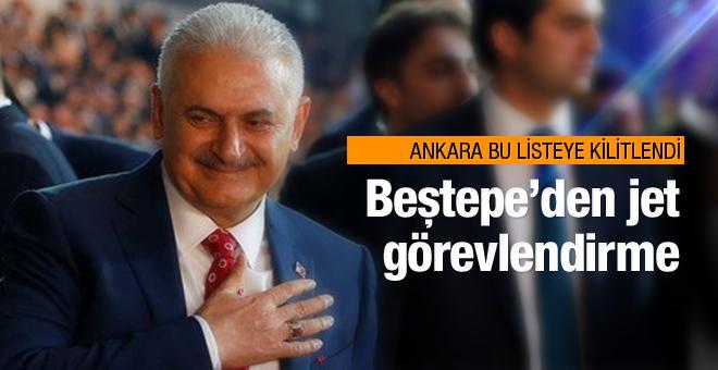 Binali Yıldırım Beştepe'ye çıktı!