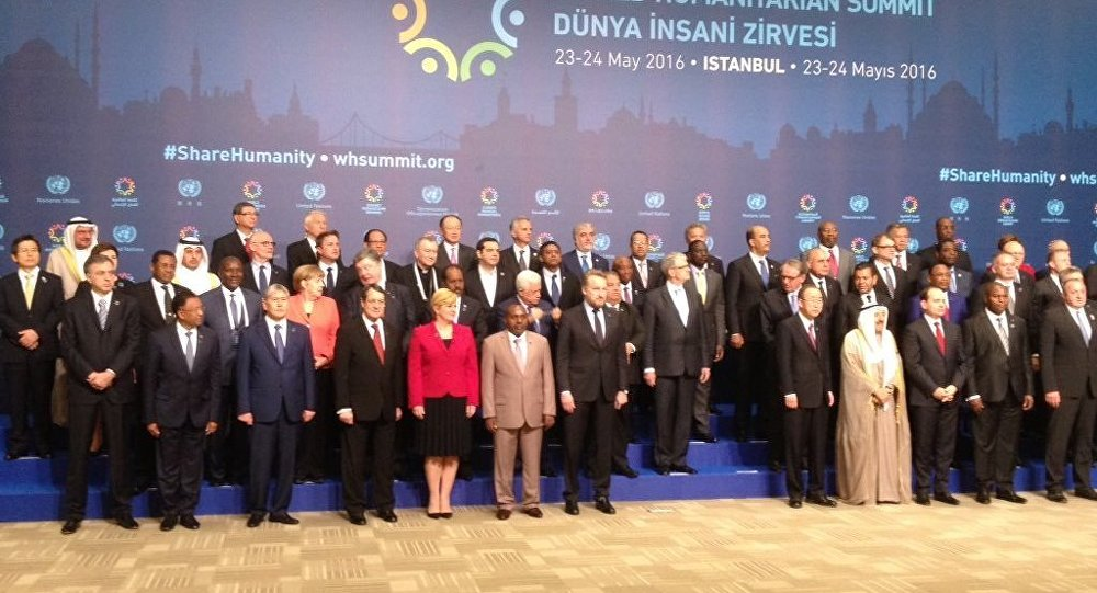 Erdoğan Dünya İnsani Zirvesi'nde konuştu: Herkes elini taşın altına koymalı