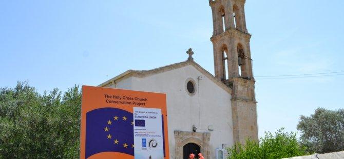 Karpaz'daki Kutsal Haç Kilisesi bakıma alınıyor