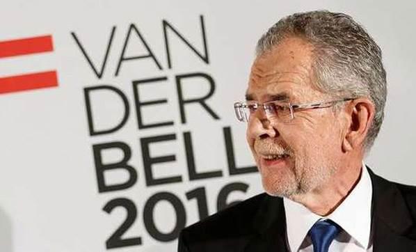 Avusturya'nın yeni cumhurbaşkanı Alexander Van Der Bellen oldu