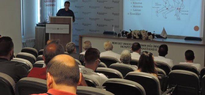 """YDÜ'de """"sporcu yaralanmalarının engellenmesi ve tedavisi"""" semineri"""