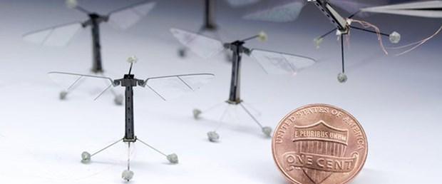 100 miligramlık robot arı