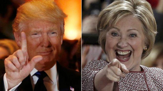 ABD'de başkanlık yarışında Trump ilk kez önde