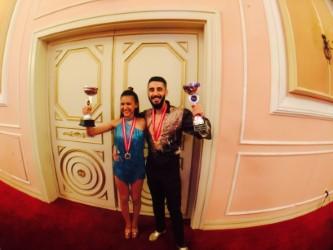 Çifte Şampiyonluk sevinci