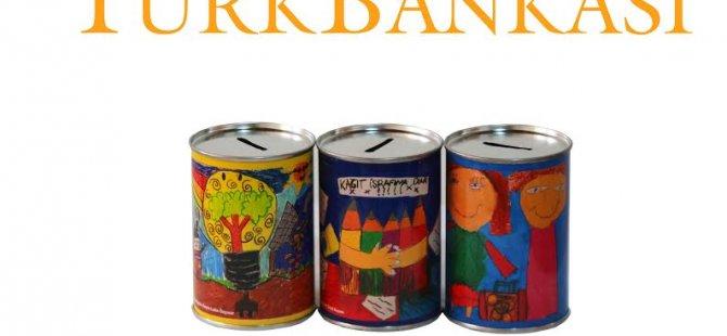 Tasarrufun resimleri Türk Bankası kumbaralarında!