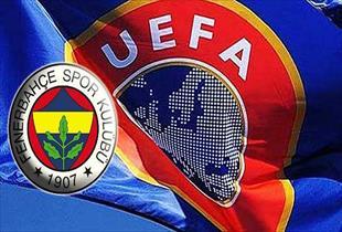 Fenerbahçe'ye UEFA'dan ağır ceza .