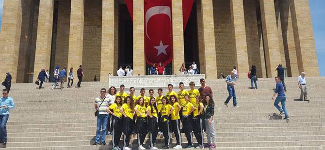 Mehmetçik Kültür ve Dayanışma Derneği, Türkiye'de festivale katıldı