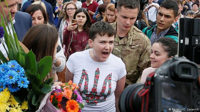 Putin Ukraynalı pilotu affetti