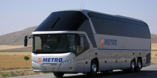 Metro Turizm muavini otobüste mastürbasyon yaptı, yolcunun üstüne boşaldı!