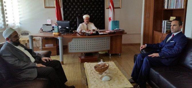Doç. Dr. Kırpık, Din İşleri Başkan Vekili Kavsara'yı ziyaret etti