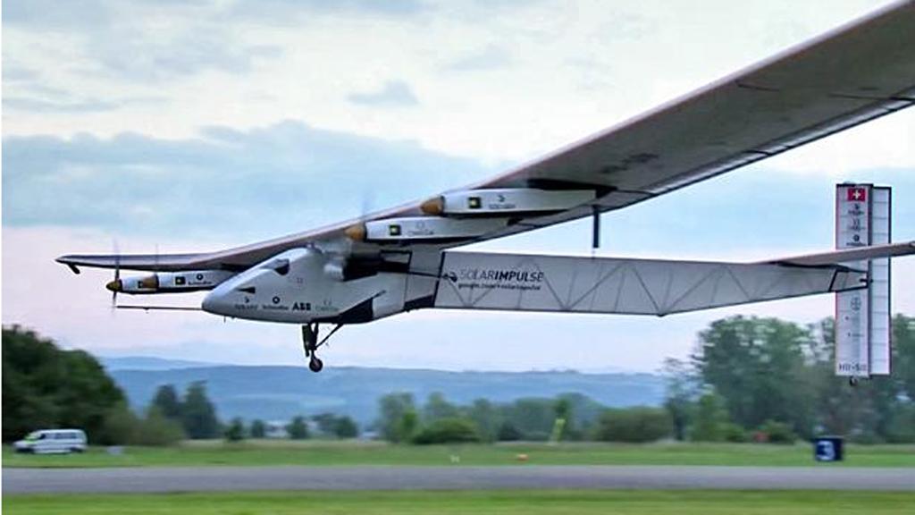 Solar Impulse Pensilvanya'ya indi