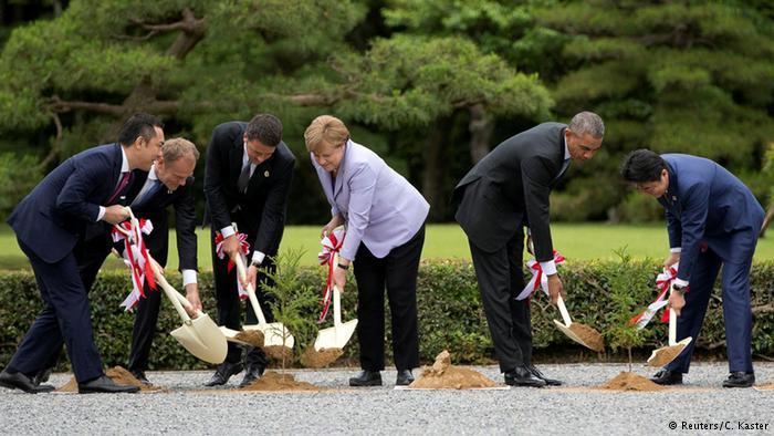 G7 liderlerinden 'ortak ekonomi inisiyatifi'