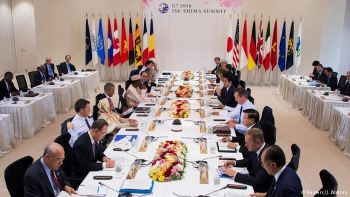 G7 Rusya'yı yaptırımla tehdit etti