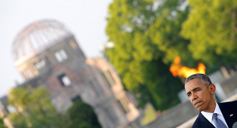 İlklerin adamı Obama Japonya'da 'nükleersizleştirme' mesajı verdi
