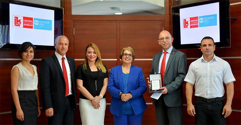 SOS'dan Limasol Bankası'na teşekkür ziyareti