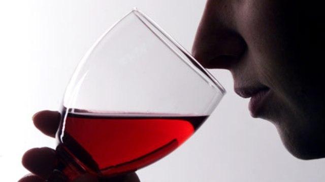 Şarap içme sanatı...