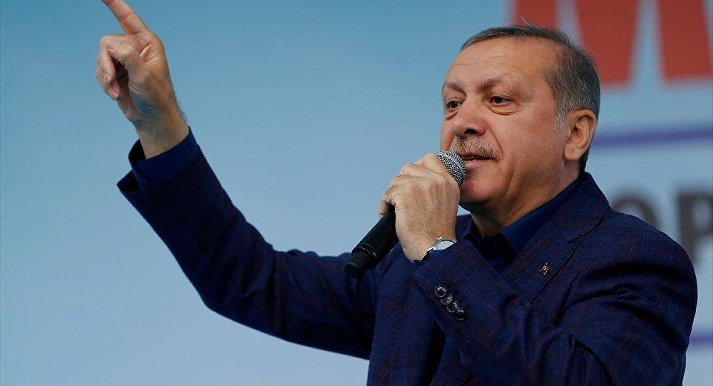 RTE, KKTC eski Maliye Bakanından feyz aldı: Uçuyoruz