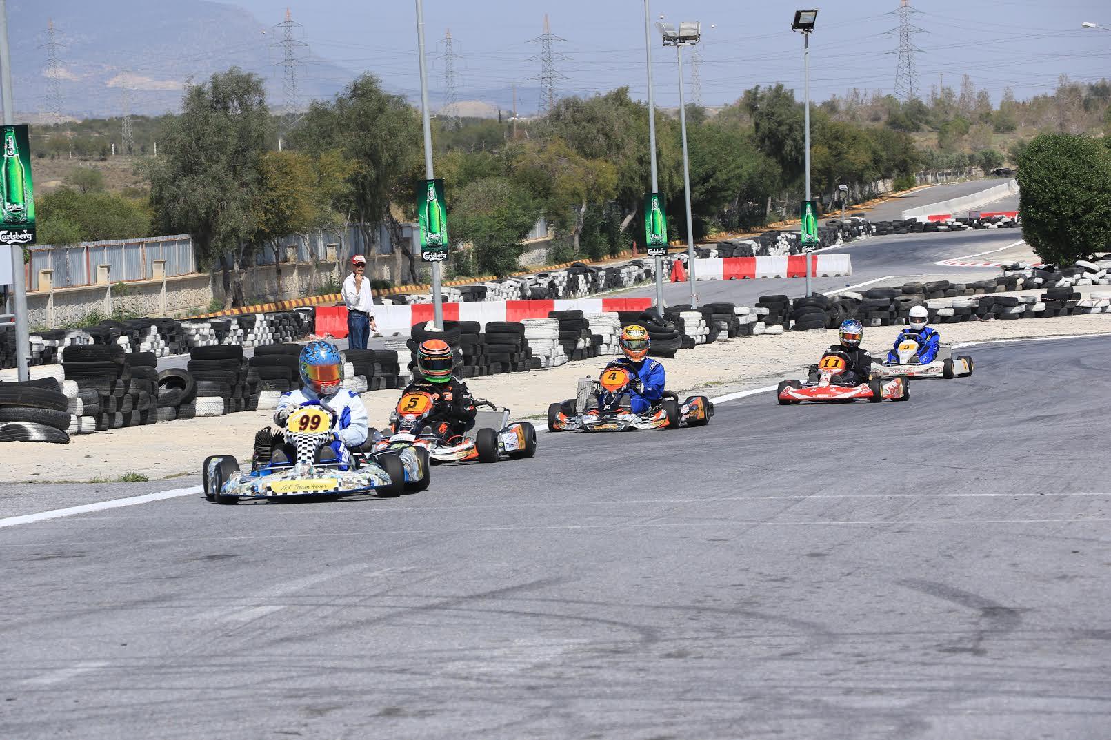 Zeka Özteknik Karting Kupası 2.Yarışı Yapılıyor