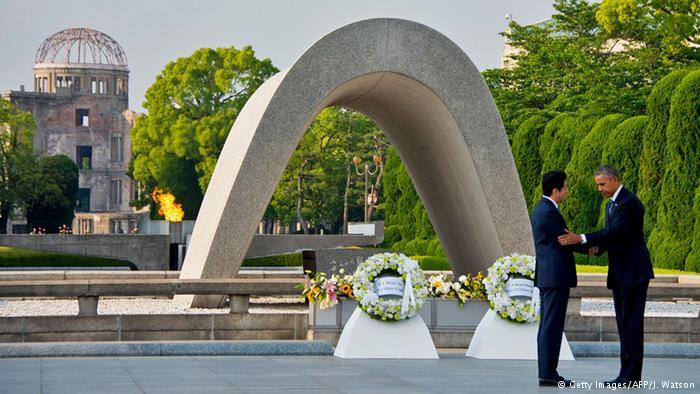 Obama Hiroşima'yı ziyaret etti