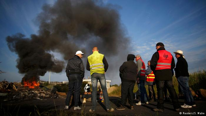 Fransa'daki işçi eylemleri yayılıyor