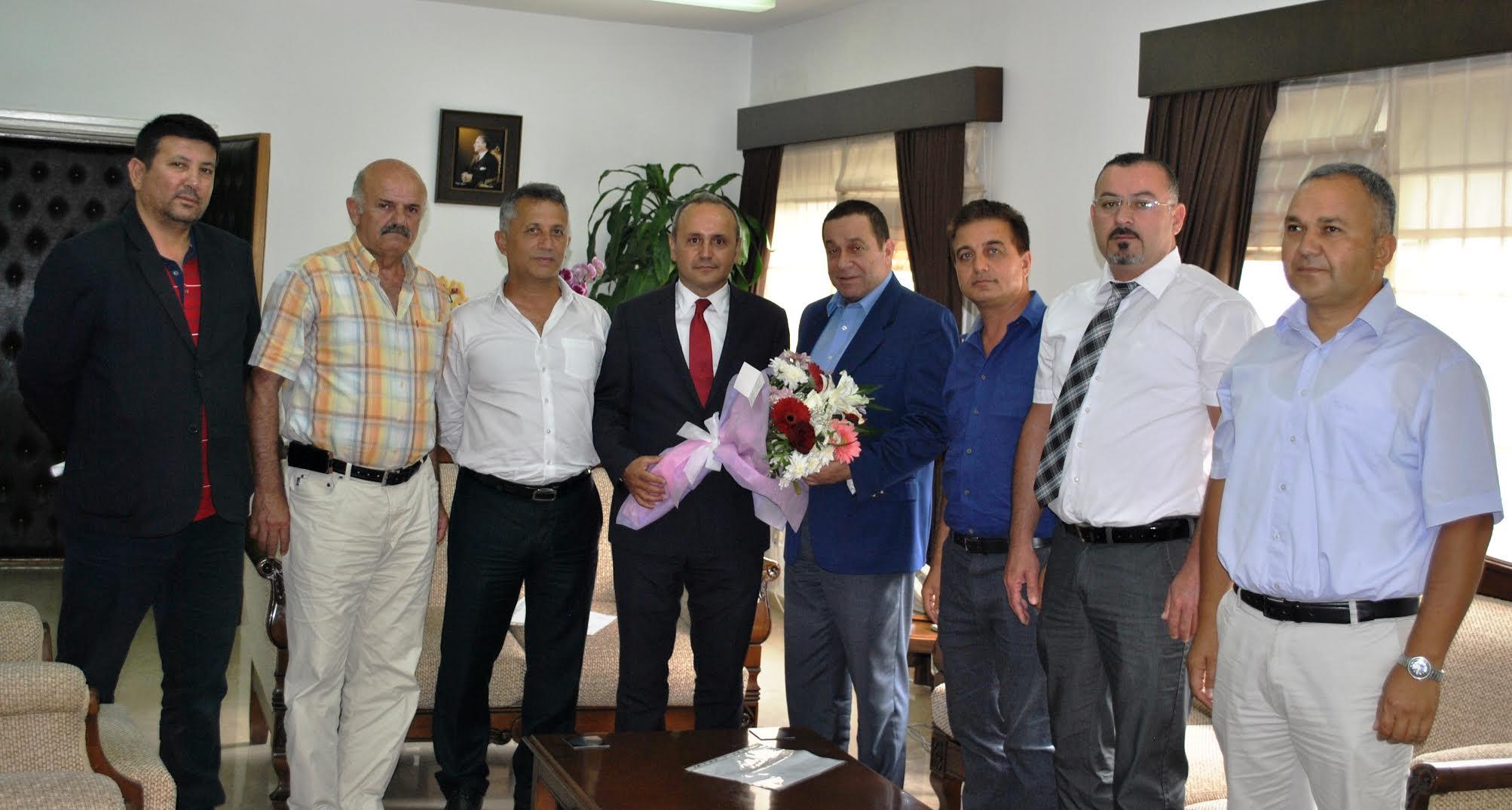 Denktaş Karadeniz Kültür Derneği ile görüştü