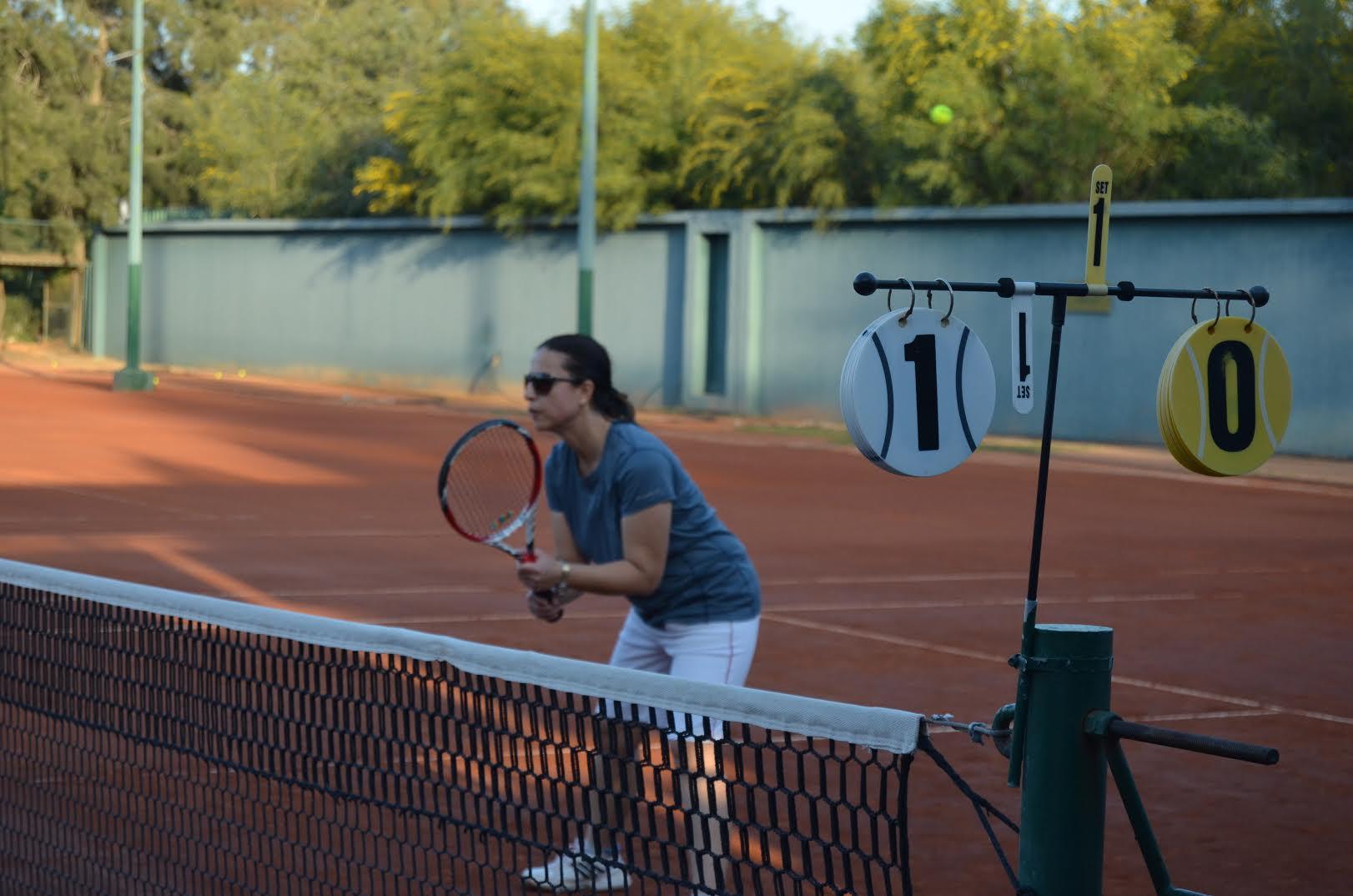 Teniste Planlı Senior-2 Turnuvası başladı