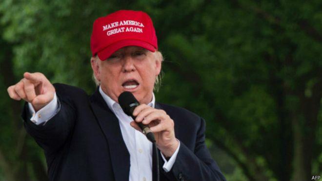 Trump: ABD'de kaçak göçmenler gazilerden iyi muamele görüyor
