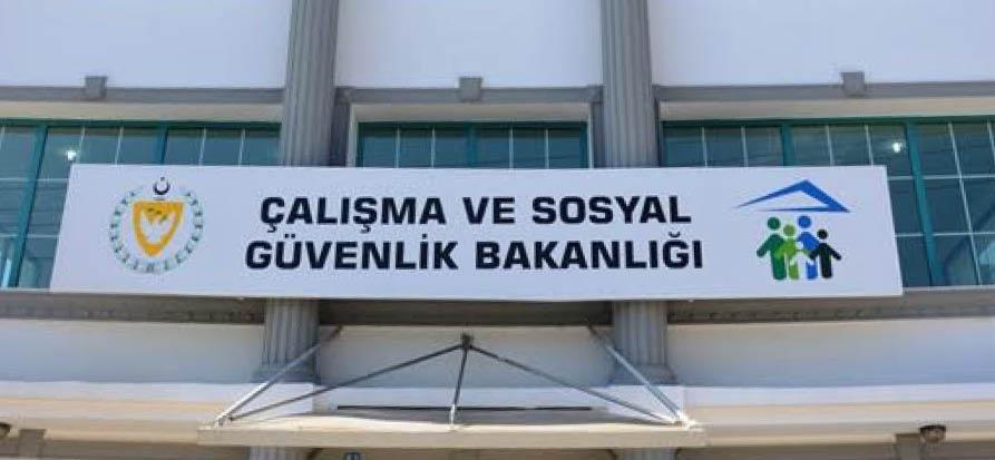 KKTC Çalışma ve Sosyal Güvenlik Bakanlığı taşındı