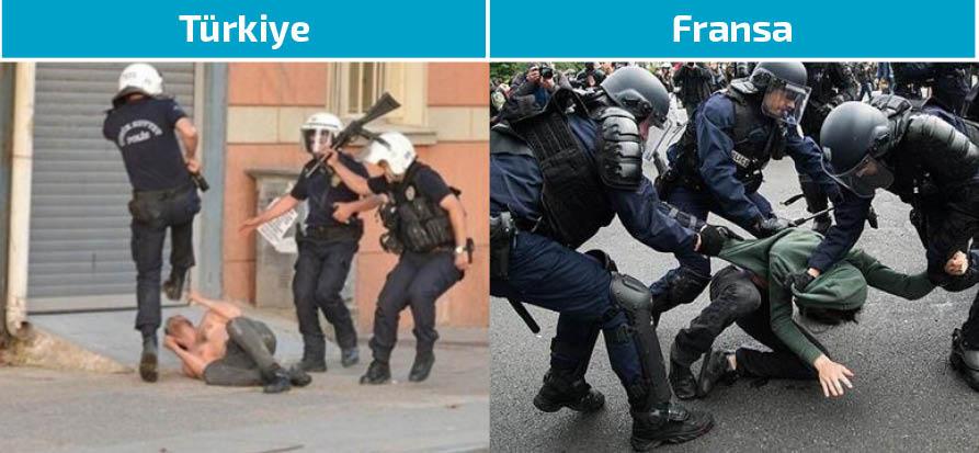 TC Dışişleri gezi olaylarını unuttu: Fransız polisinin müdahalesinden endişe duyuyoruz