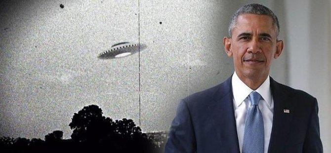 'Obama'dan giderayak UFO bombası!
