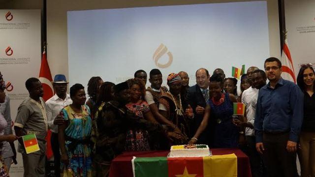"""UKÜ'de """"56. Kamerun Bağımsızlık Günü"""" kutlandı"""