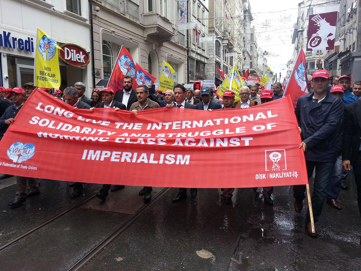 Dev-İş İstanbul'da temsil edildi
