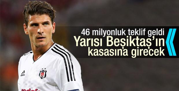 Wolfsburg'dan Mario Gomez için 14 milyon Euro