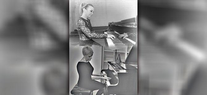 """""""DOLCE PIANO DUO"""" konseri bu Cuma"""