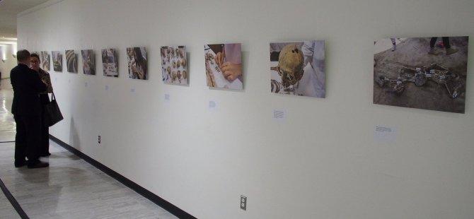 Kayıp Şahıslar Komitesi New York'ta BM binasında sergi açtı