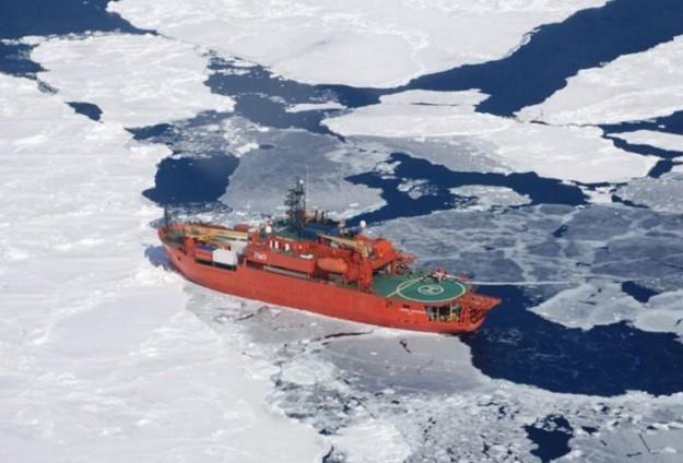 Buza sıkışan gemileri ABD Sahil Güvenliği kurtaracak